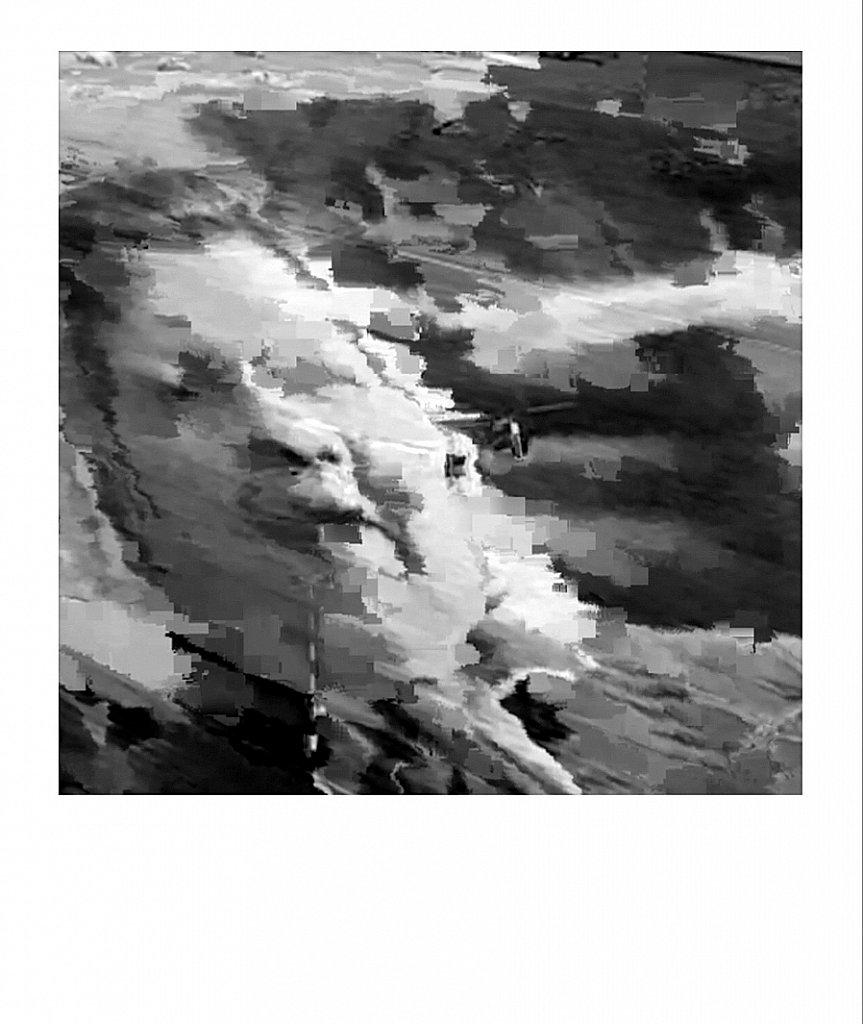 Zwischen Schwarz und Weiß - Fragmente einer Katastrophe # 2019.09